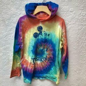 Other - Tie dye Disneyland hoodie